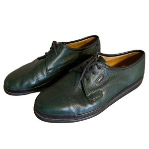Bally Green Leather Oxfords - Men's Size 9